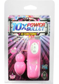 10x Power Bullet - Pink
