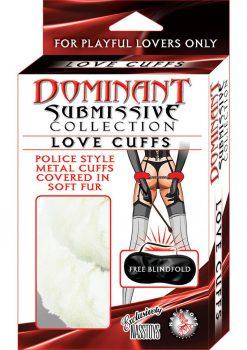 Dom/sub Love Cuff - White