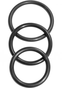 Sex Mischief Nitrile Cock Ring 3 Pack