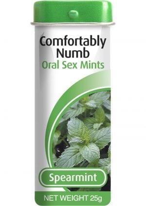 Comfortably Numb Oral Sex Mints Spearmint