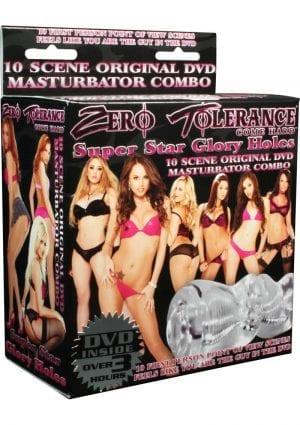 Zero Tolerance Super Star Glory Holes Masturbator And DVD