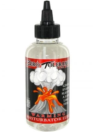 Zero Tolerance Warming Masturbator Lubricant 4 Ounce