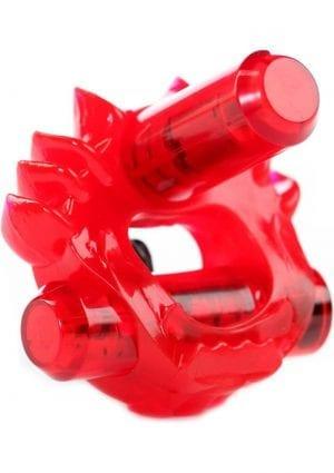 Zero Tolerance Cross Bones The Flame Thrower With Double Bullets Waterproof Red