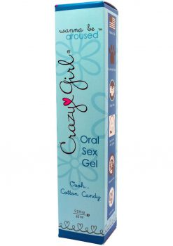 Crazy Girl Wanna Be Aroused Oral Sex Gel Oooh Cotton Candy 2.2 Ounce