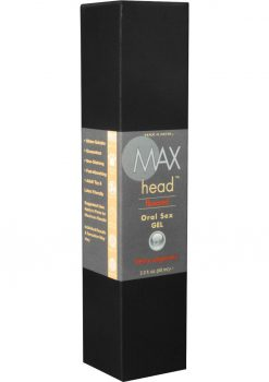 Max 4 Men Max Head Flavored Oral Sex Gel Berry Orgasmic 2.2 Ounce