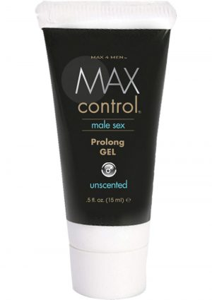 Max 4 Men Max Control Male Sex Prolong Gel Unscented 0.5 Ounce