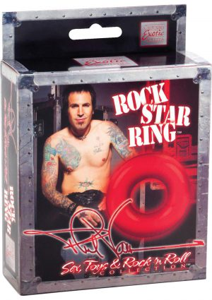 Shanes World Rock Star Ring Cock Ring Red