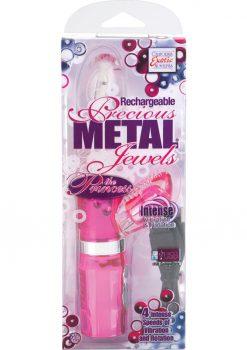 Rechargeable Precious metal Jewels The Princess Vibrator Pink