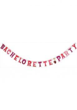 Bachelorette Party Letter Banner