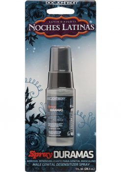 Latin Nights Noches Latinas Spray Duramas Male Genital Desensitizer Spray 1 Ounce