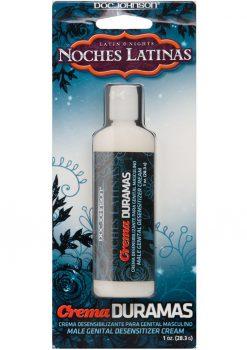 Latin Nights Noches Latinas Crema Duramas Male Genital Desensitizer Cream 1 Ounce
