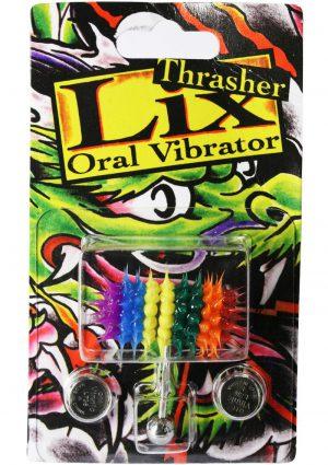 Lix Thrasher Oral Vibrator Rainbow 1