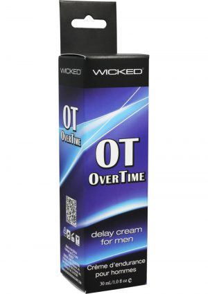 Wicked Overtime Delay Cream For Men 1 Ounce