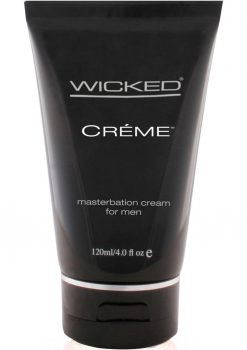 Wicked Creme Masturbation Cream For Men 4 Ounce