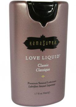 Love Liquid Classic Premium Sensual Lubricant 1.7oz