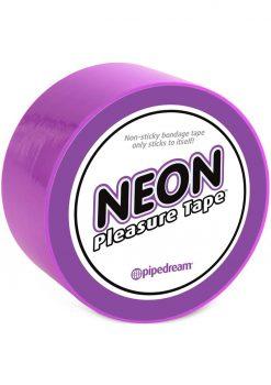 Neon Pleasure Tape Bondage Tape Purple