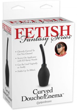Fetish Fantasy Series Curved Douche Enema