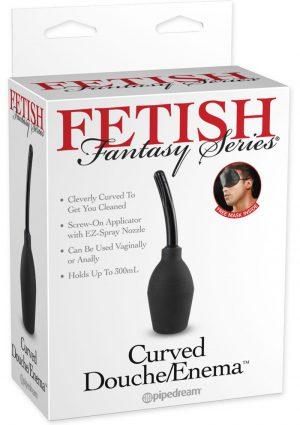 Fetish Fantasy Curved Douche Enema