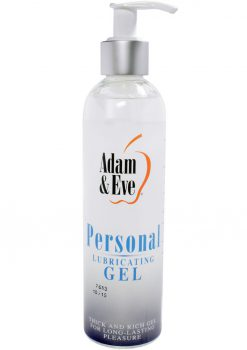 Personal Water Based Gel 8 Oz