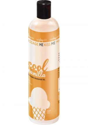 Massage Me Edible Cooling Oil Vanilla