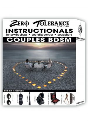 Zero Tolerance How To Instructionals Couples BDSM Kit