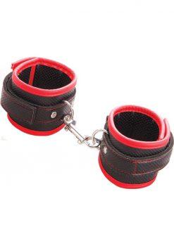 Scarlet Couture Bondage Cuffs Red/Black