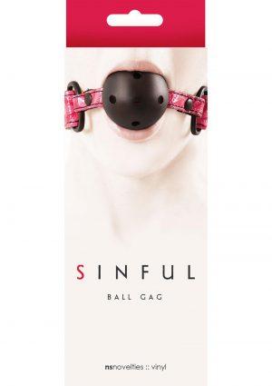 Sinful Ball Gag
