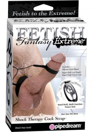 Fetish Fantasy Extreme Shock Therapy Cock Strap