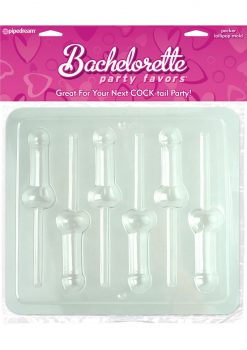 Bachelorette Party Pecker Lollipop Mold