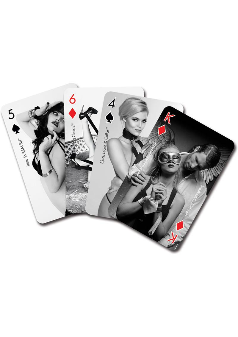 Black ice hardcore playing cards erotic exotic pleasure play game sex enhancer for sale online