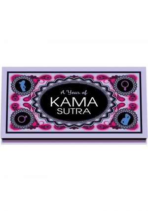 A Year Of Kama Sutra Sexual Tip Cards