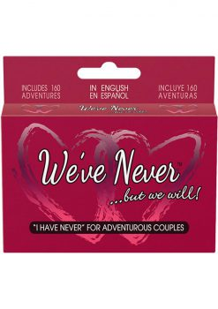 We've Never ...But We Will Couples Card Game