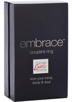 Embrace Couples Ring Silicone Cockring Waterproof Pink