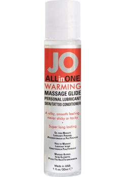 Jo All In One Massage Glide Warming 1oz.
