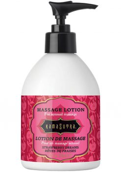 Kama Sutra Massage Lotion Strawberry Dreams 12 Ounce