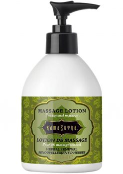 Kama Sutra Massage Lotion Herbal Renewal 12 Ounce