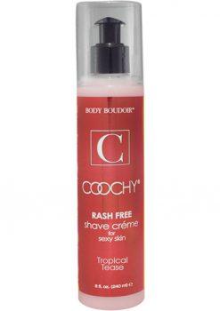 Body Boudoir Coochy Rash Free Shave Creme Tropical Tease 8 Ounce