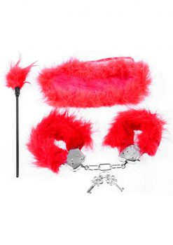 Fetish Fantasty Feather Fantasy Kit Red