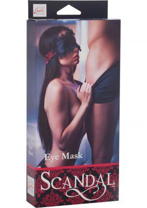 Scandal Eye Mask Black/Red
