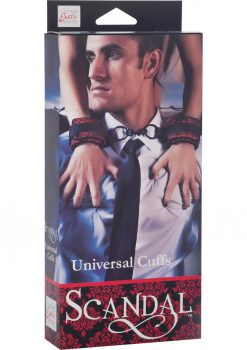 Scandal Universal Cuffs Red/Black