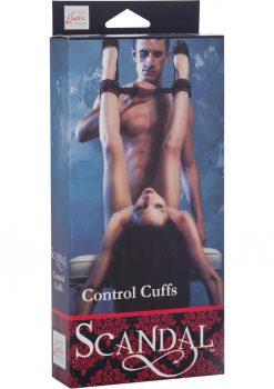 Scandal Control Cuffs Red/Black