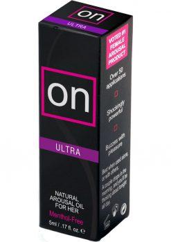 On Arousal Oil Ultra For Her 5 Milliliter Bottle