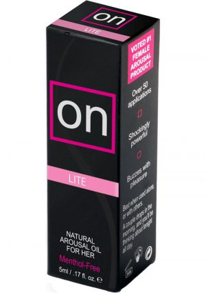 On Arousal Oil Light For Her .17 Ounce Bottle
