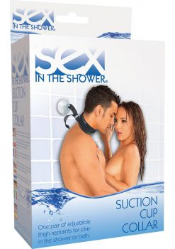 Sex In The Shower Suction Cup Adjustable Collar Black
