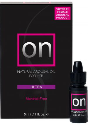On Arousal Oil Ultra For Her Boxed .17 Ounce Bottle