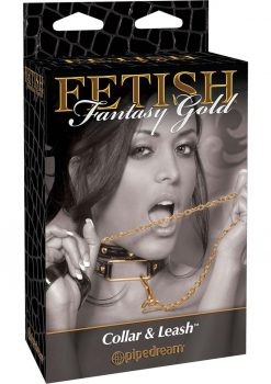 Fetish Fantasy Gold Leash