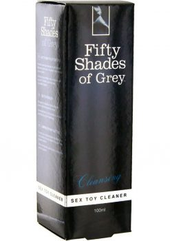 Fifty Shades Of Gray Cleansing Sex Toy Cleaner 3.4 Ounce