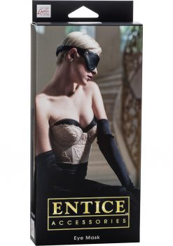 Entice Accessories Eye Mask Black