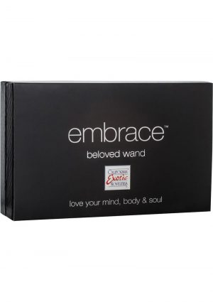 Embrace Beloved Wand Silicone Vibe Waterproof Purple 5.5 Inch