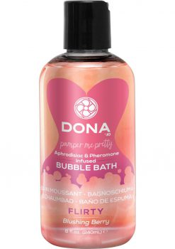 Dona Bubble Bath Blushing Berry 8oz
